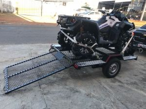 Quadriciclo rampa de Tela